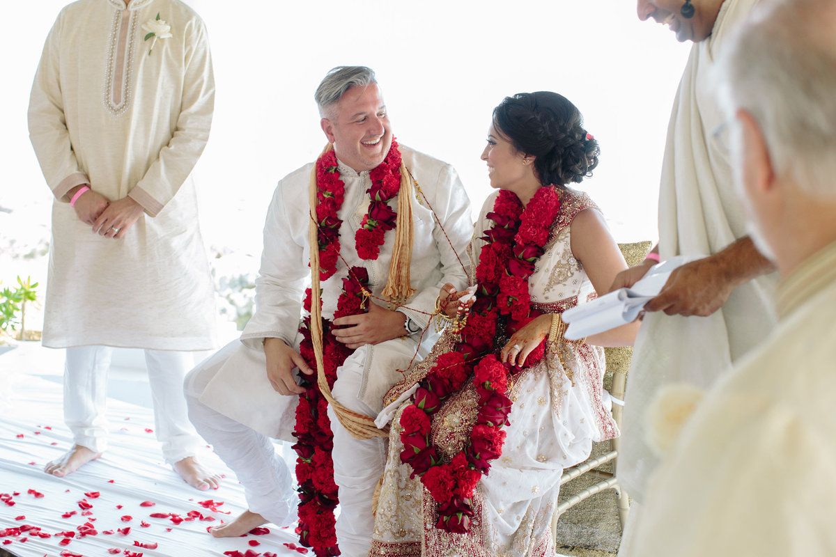 Rebecca Cerasani captures joy during an Indian wedding ceremony in Cancun, Mexico