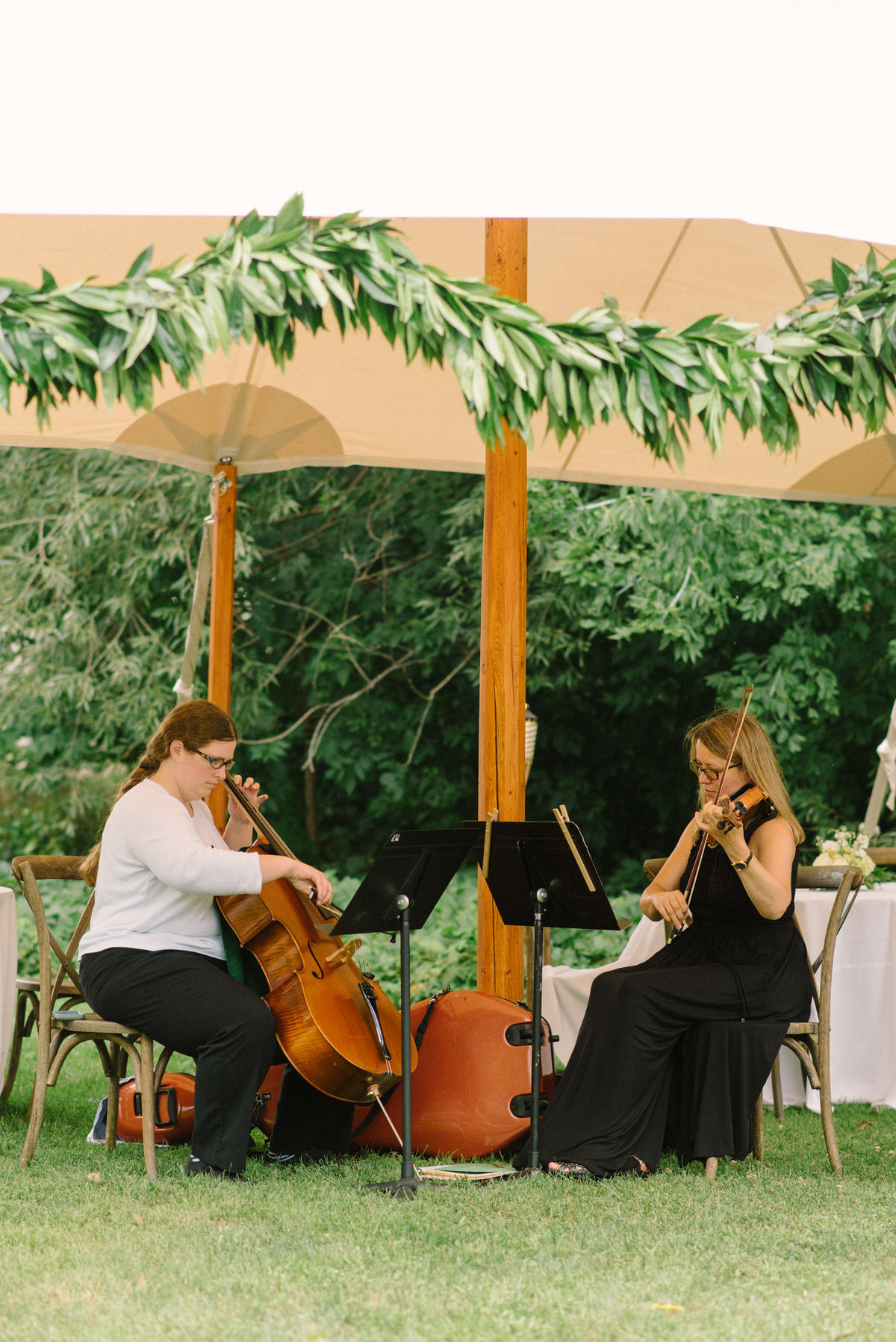 cello, ceremony music, tented wedding