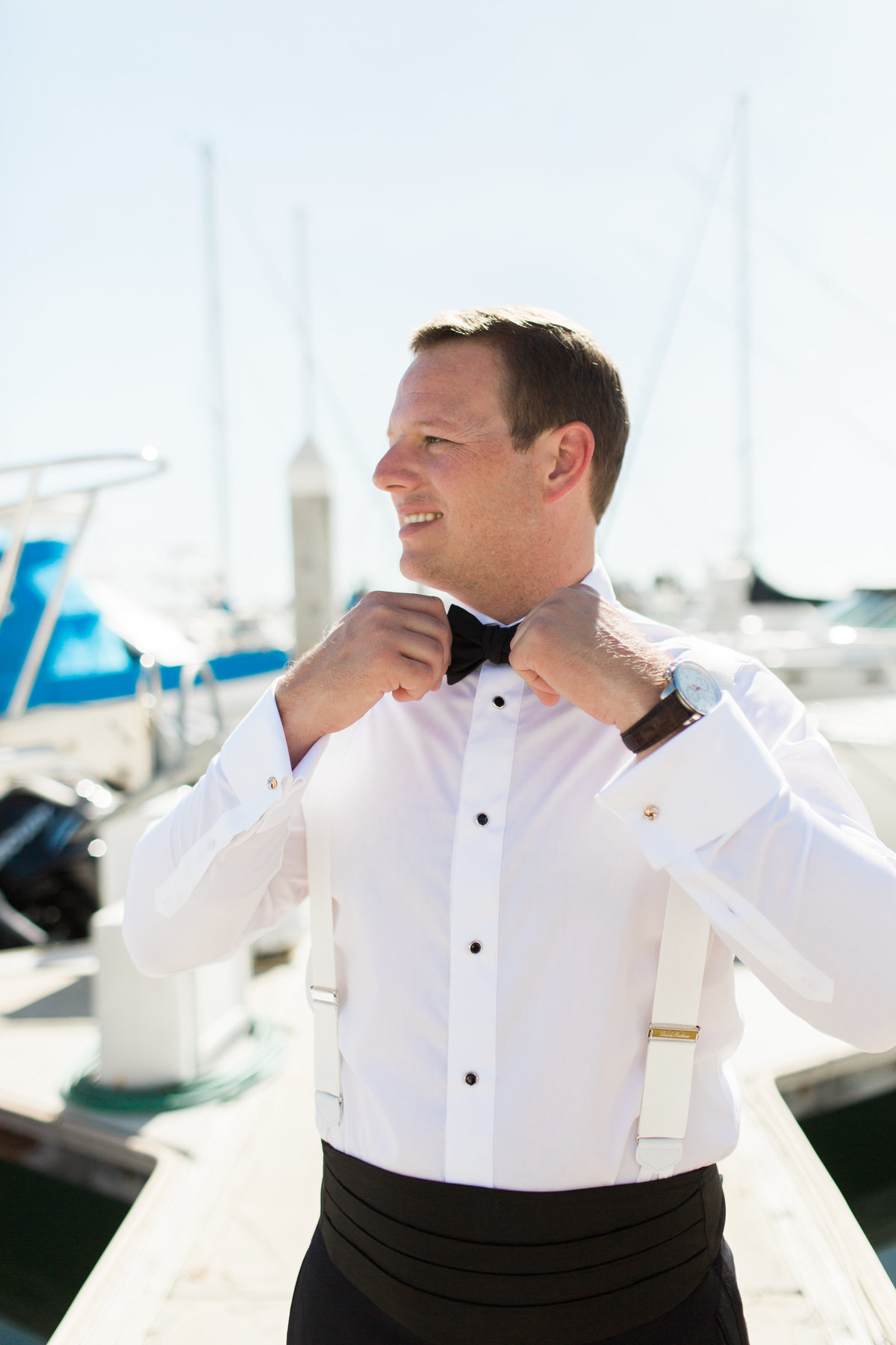 High Res Jon and Paige Newport Harbor Yacht Club Wedding _ Hello Blue Photo -199