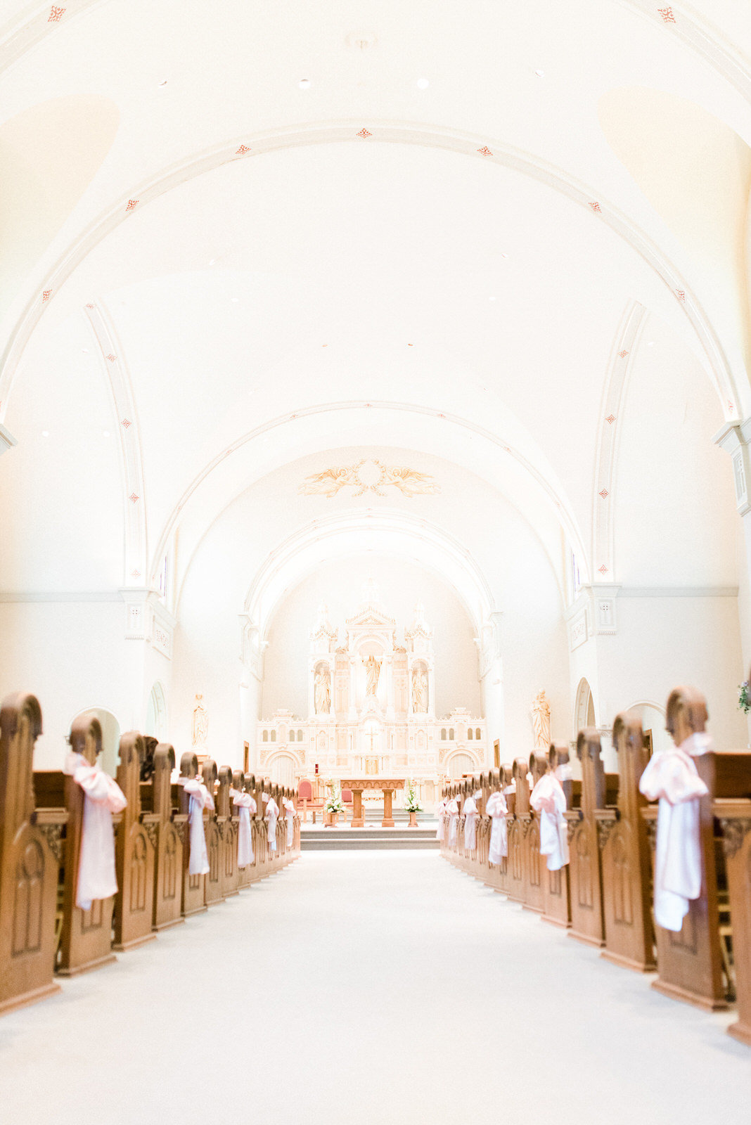gorgous catholic wedding ceremony