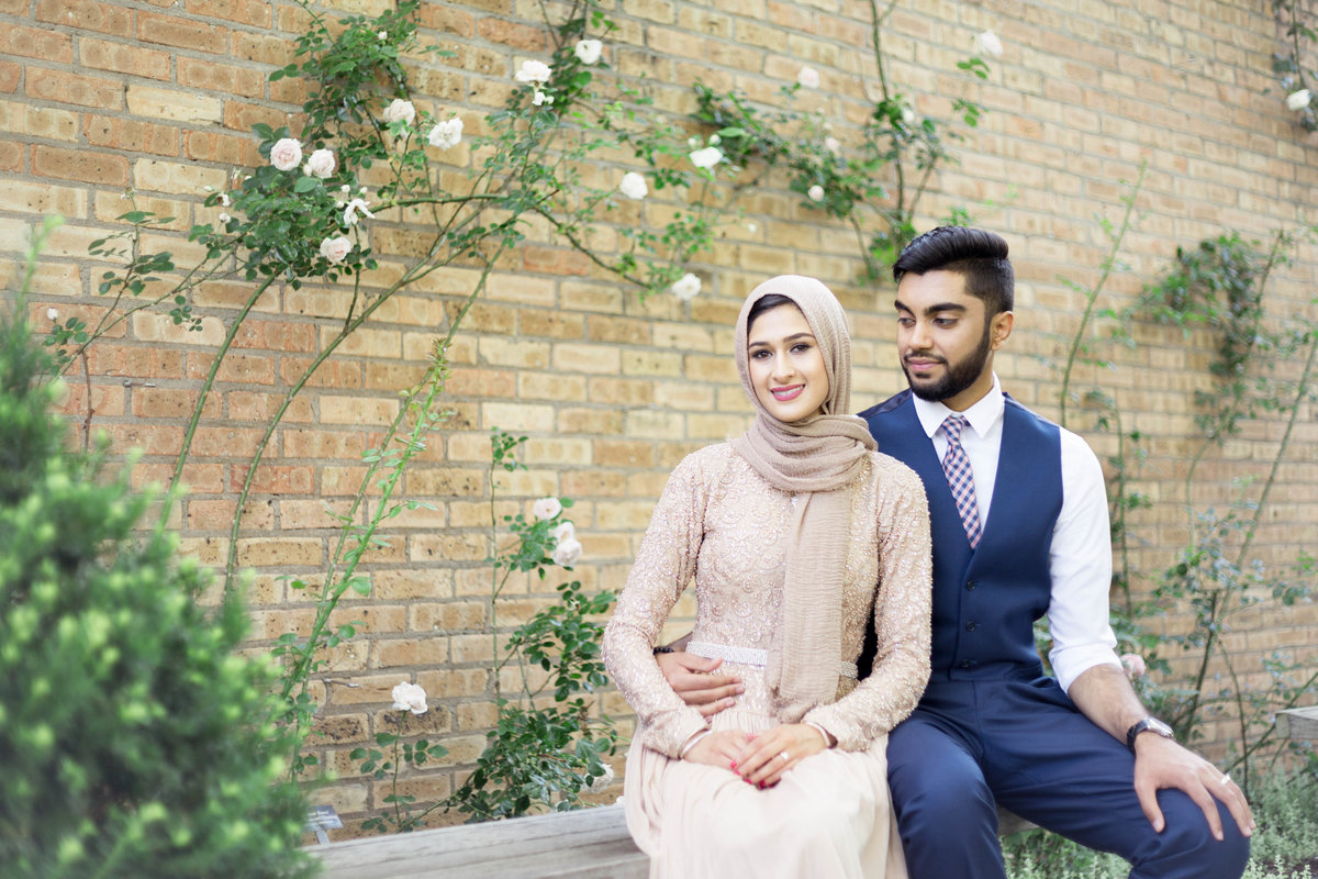 Humna & Fahad Chicago Botanic Engagement -5