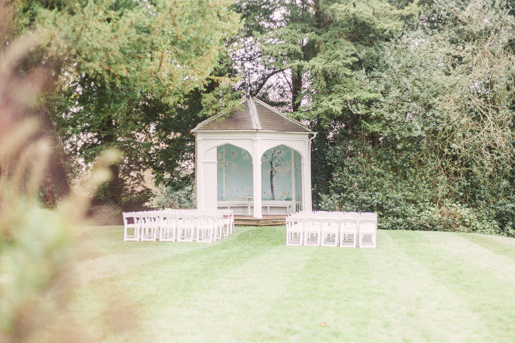 Wasing Park Summer House Outdoor Ceremony ElsieLove Photography