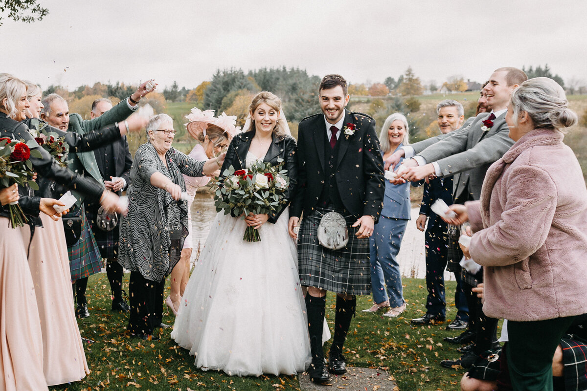 Maryculter_House_Confetti_Autumn_Wedding