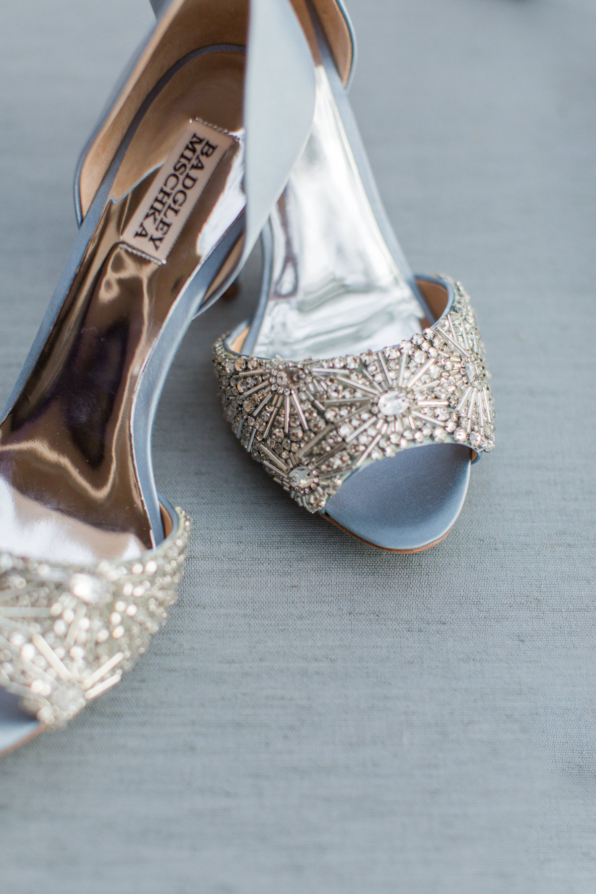 Sprakly gray wedding shoes photo by Toronto Ontario Wedding Photographer - Silver Linings Photography-15