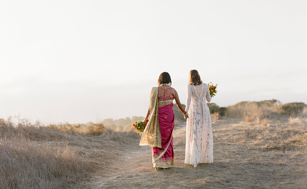 Jean + Anamika Bolinas California Wedding Cassie Valente Photography 0315