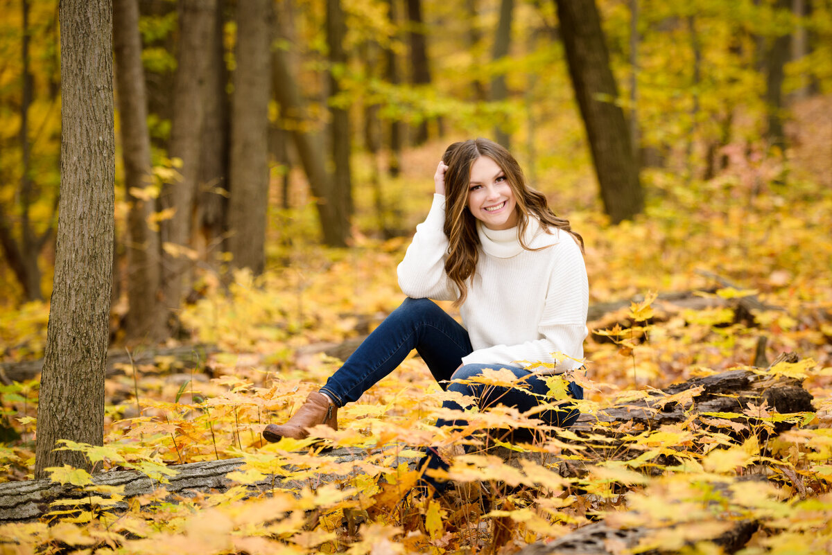 Autumn Senior PIctures in Grand Rapids by Images by Jennifer-26