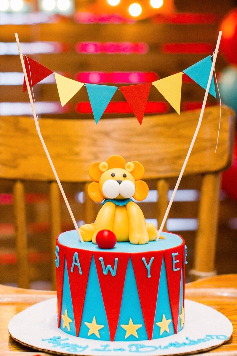 Circus Themed 1st Birthday Indianapolis Party Planner_0127