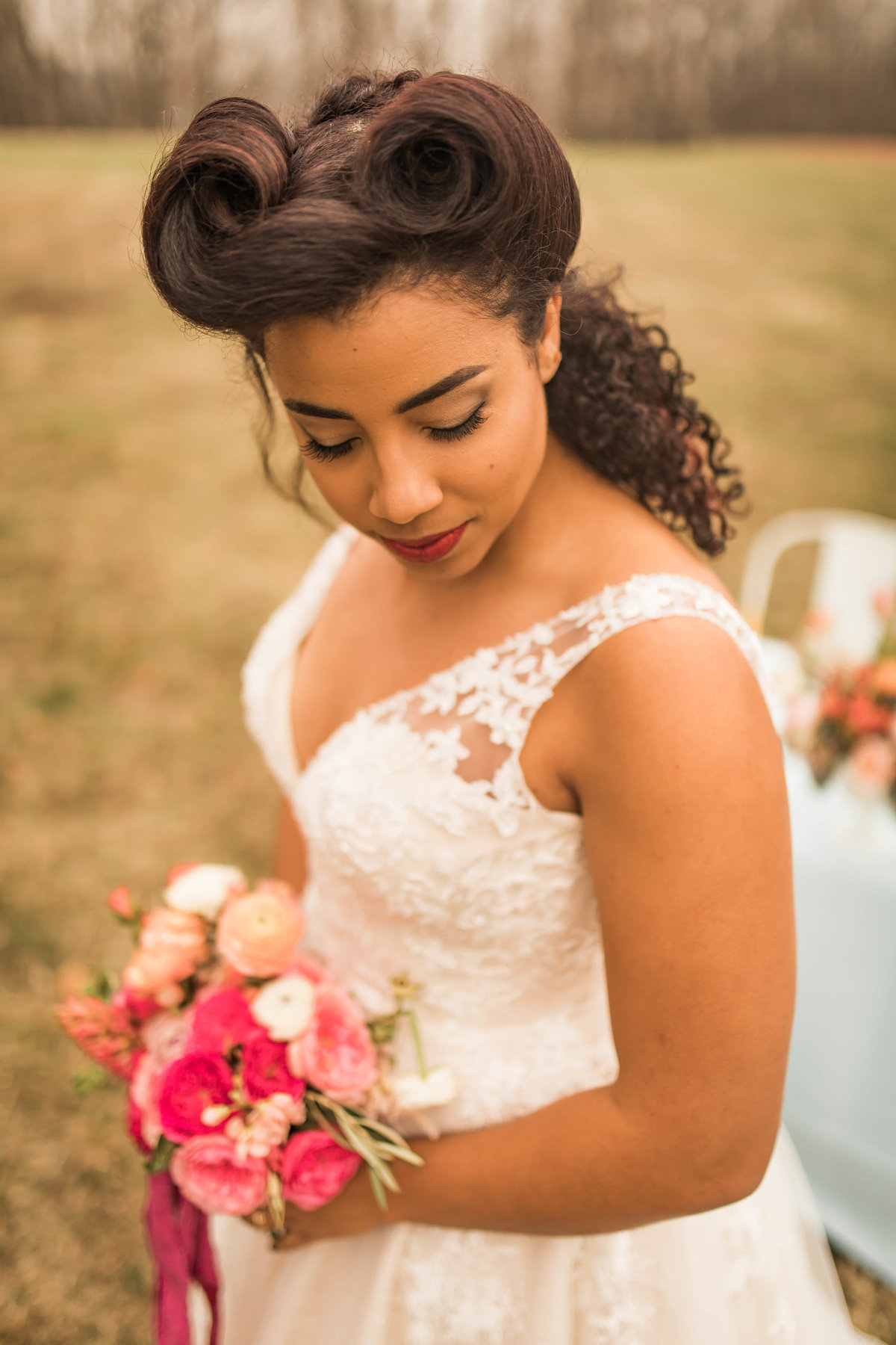 Retro Styled Shoot - Sophia and Andrew - St Louis Wedding Photographer - Allison Slater Photography 107