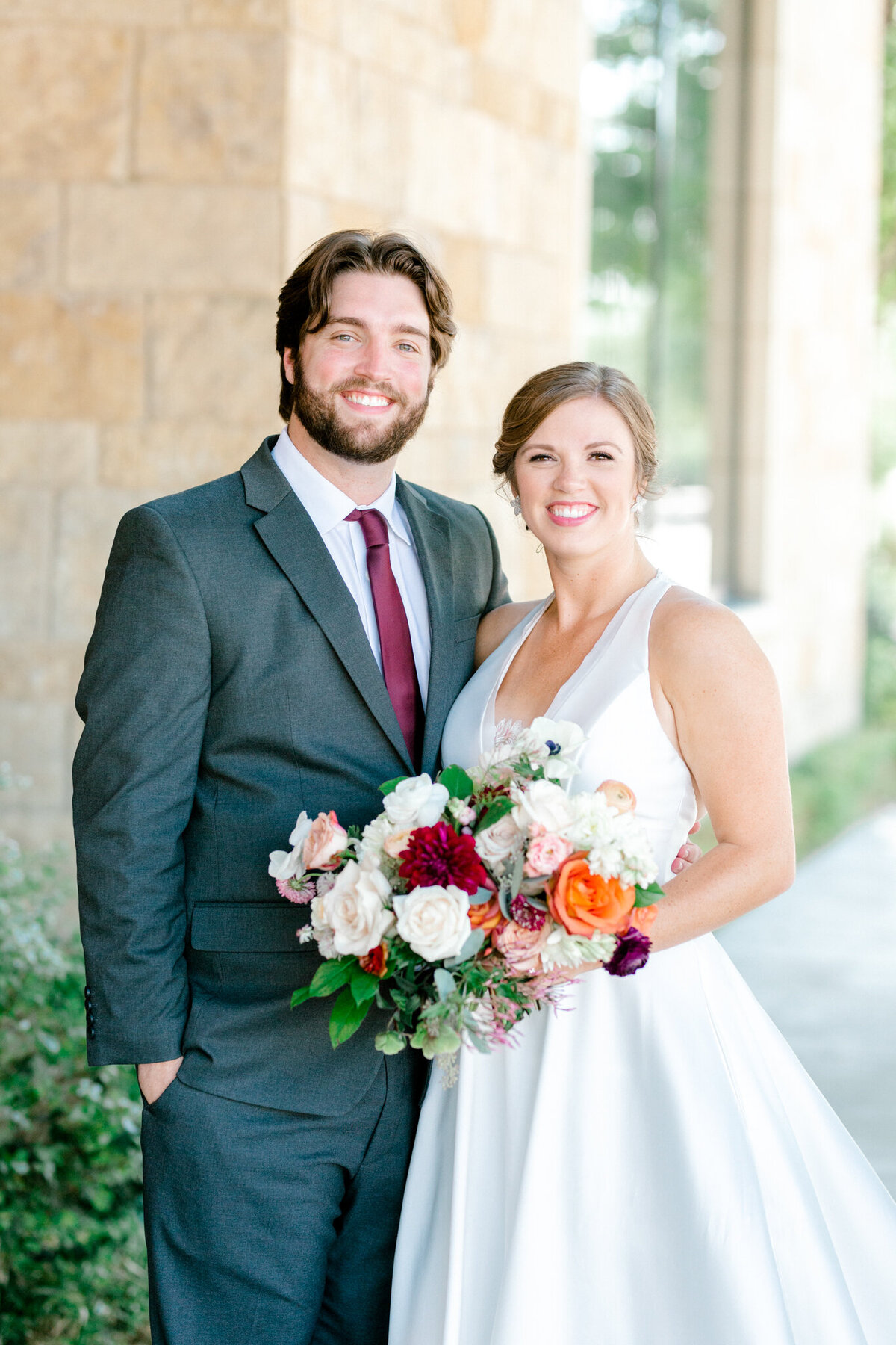 Kaylee & Michael's Wedding at Watermark Community Church | Dallas Wedding Photographer | Sami Kathryn Photography-45