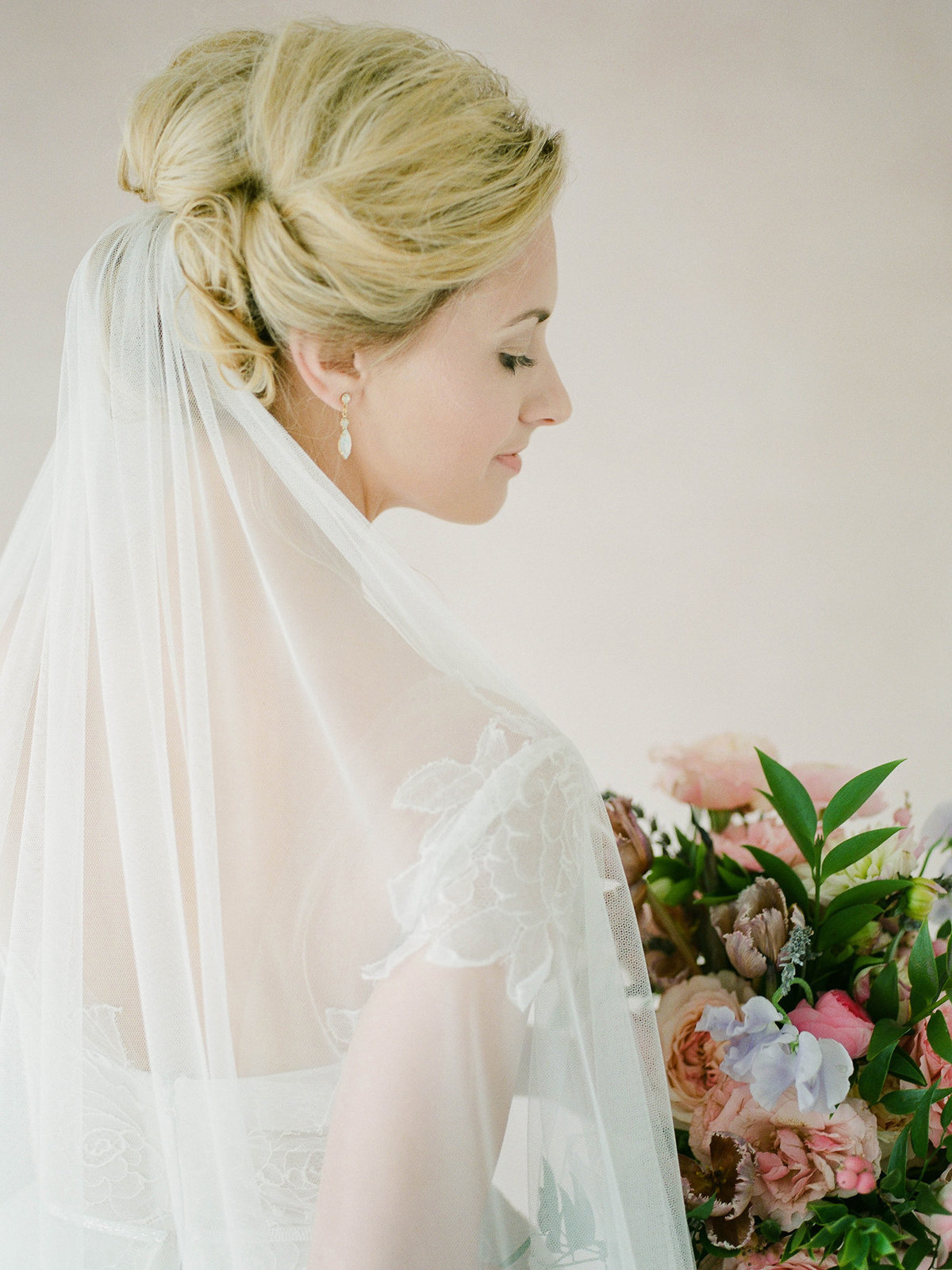 Fine Art Bridal Portraits - Sarah Sunstrom Photography - Film Wedding Photographer - 32