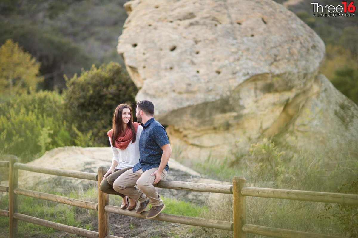 Laguna Coast Wilderness Park Engagement Photos Laguna Beach Orange County_1