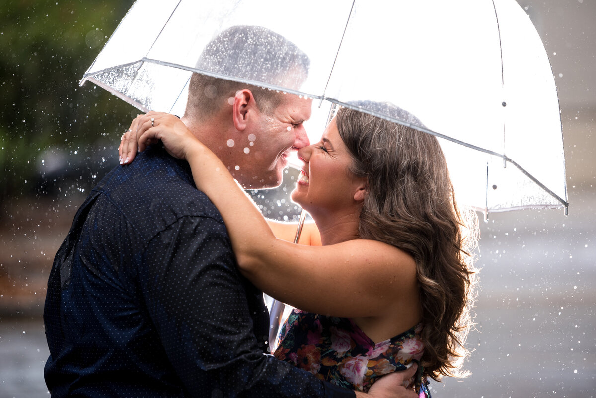 engagement-shoot-in-rain-wilmington