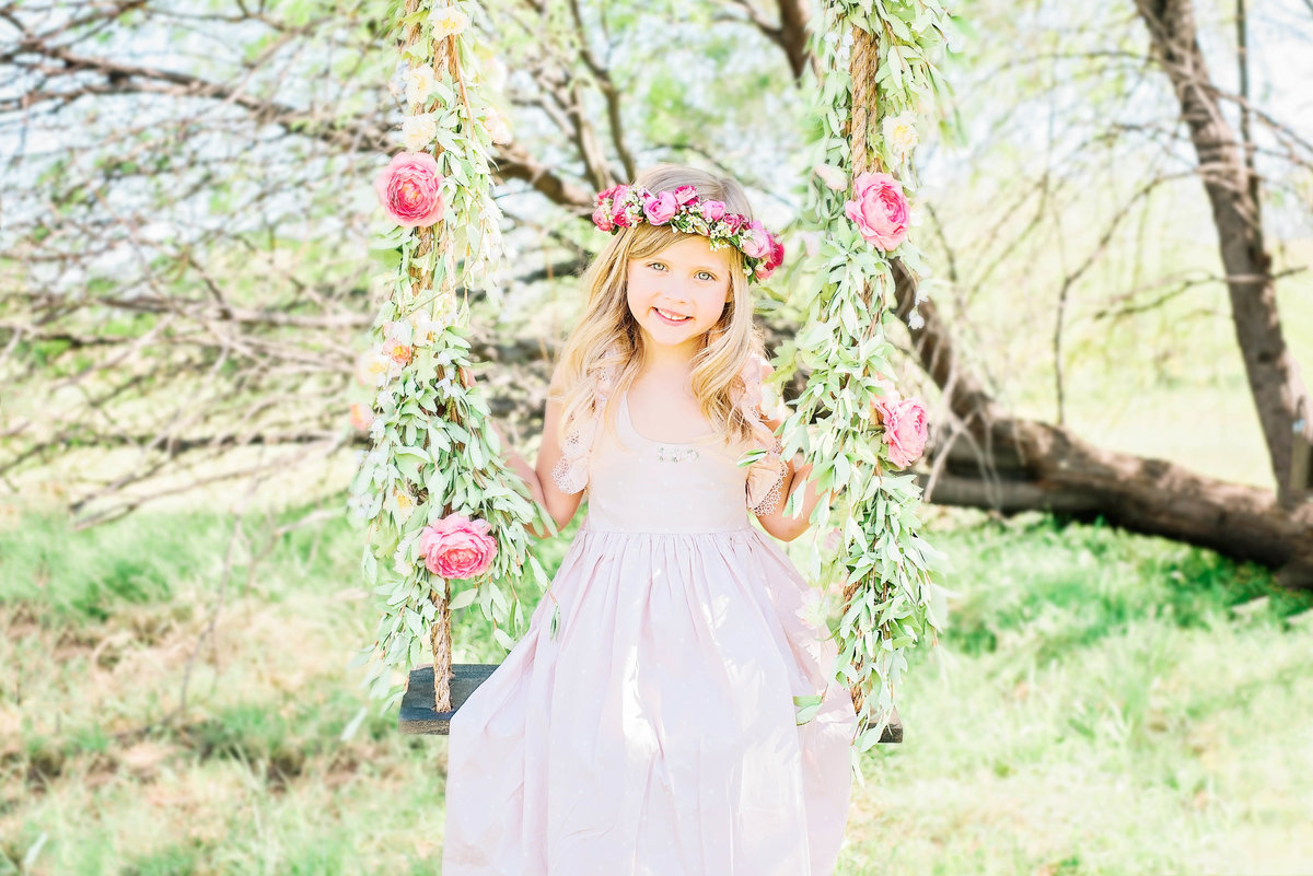 Styled-Floral-Swing-Children-Photography-Glendale-Arizona-Ashley-Flug-Photography