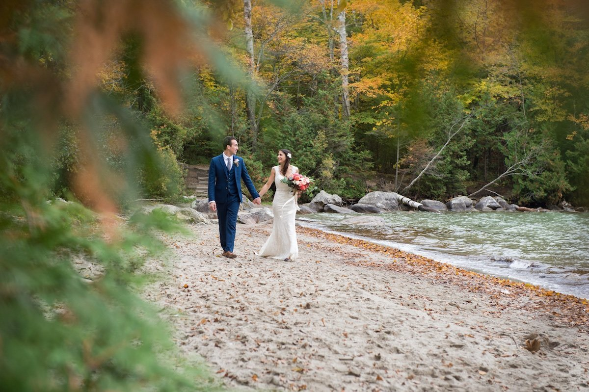Lake Willoughby Vermont wedding photographer