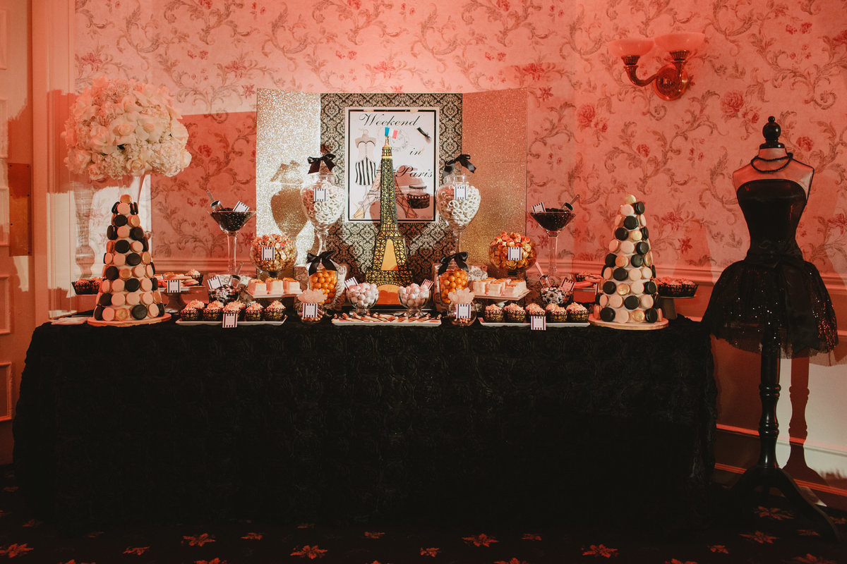 Parisian Sweet 16 Birthday Party New Jersey Event Planner 22