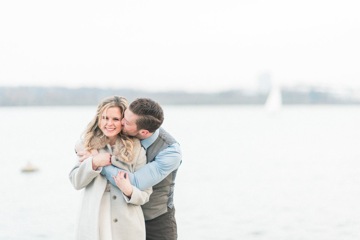 Old Town Alexandria Engagement Portraits