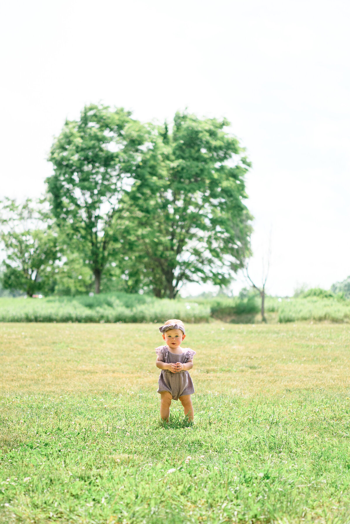 Great Brook Farm family photography session with toddler