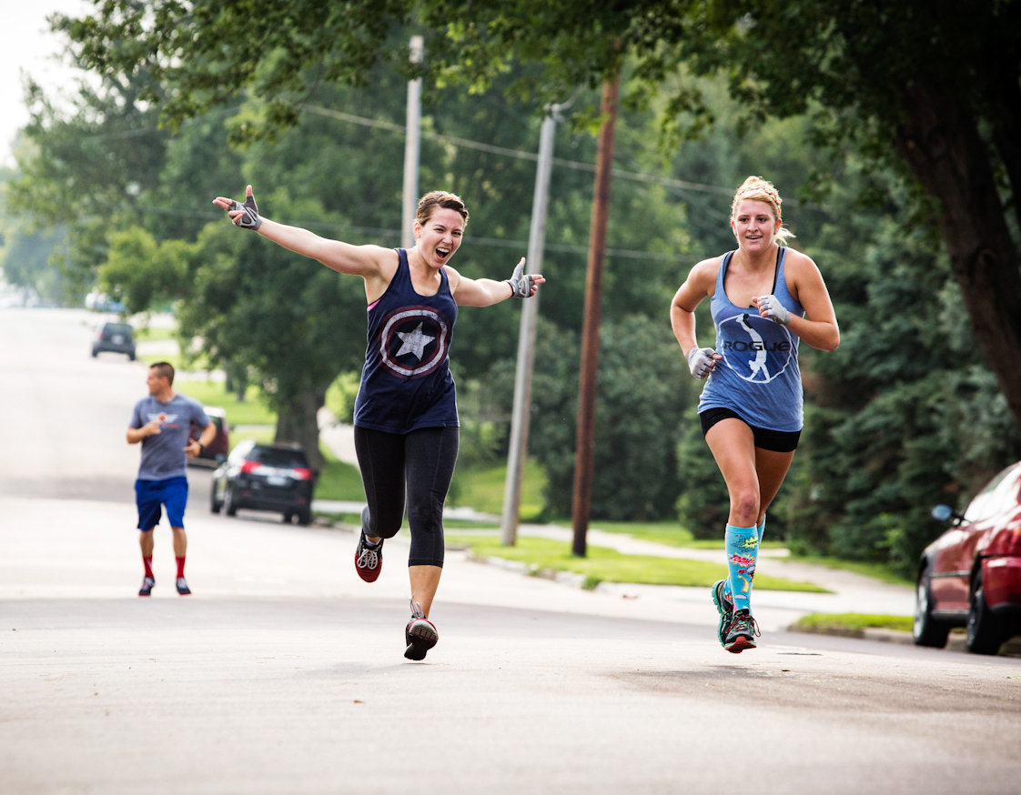 sioux falls crossfit athletes running south dakota