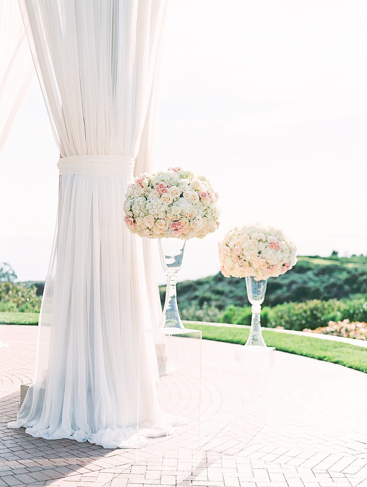 Posh Peony Pelican Hill Newport Beach Blush Glam Wedding_0000