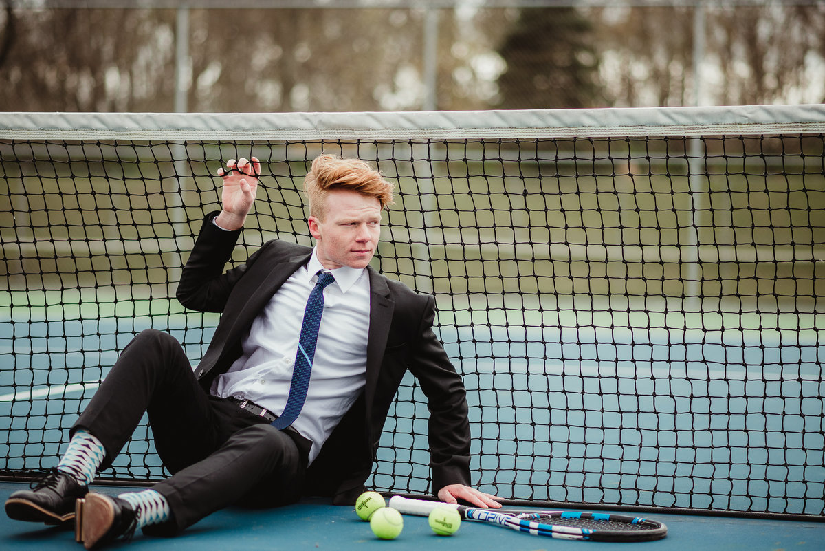 Tennis Boy Senior Session