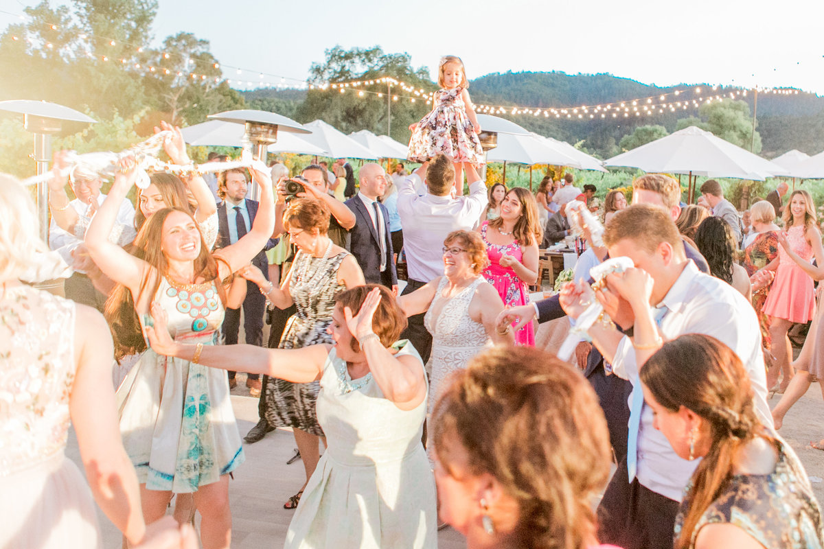 Sunset Destination Wedding Dancing
