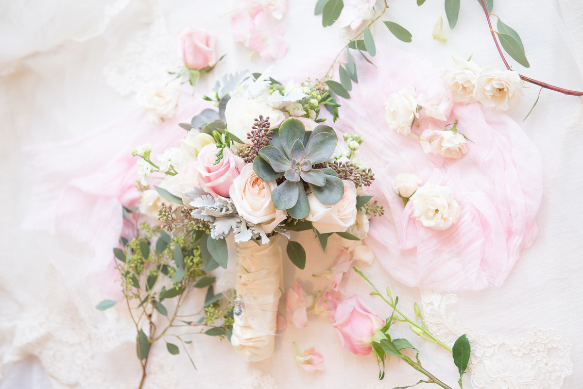 Floral details from wedding