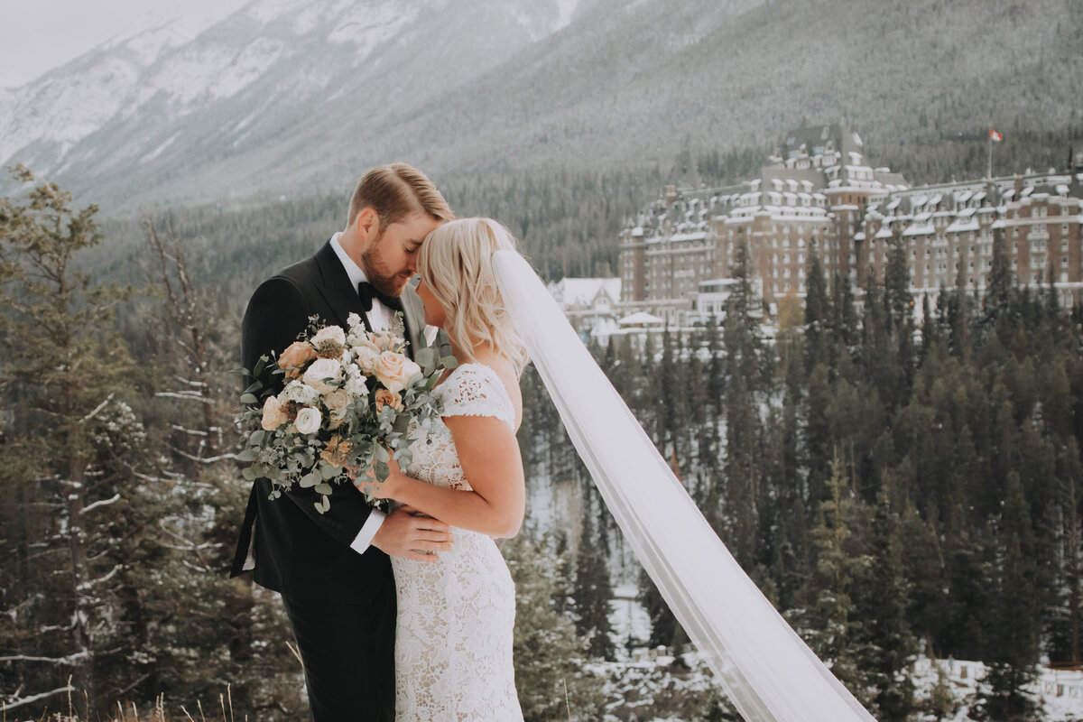 Fairmont Banff Springs Intimate Elopement