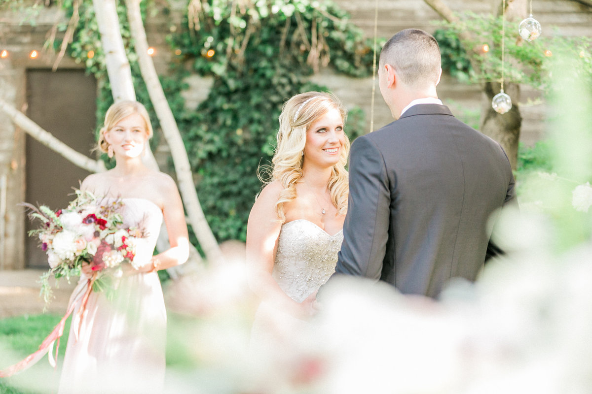 Rustic Glam Outdoor Wedding