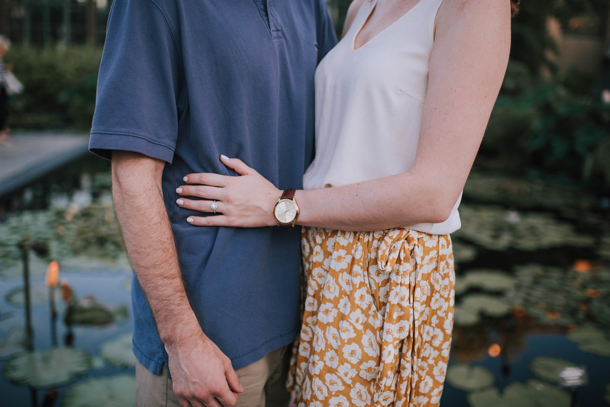 Longwood Gardens Engagement MLE Pictures-24