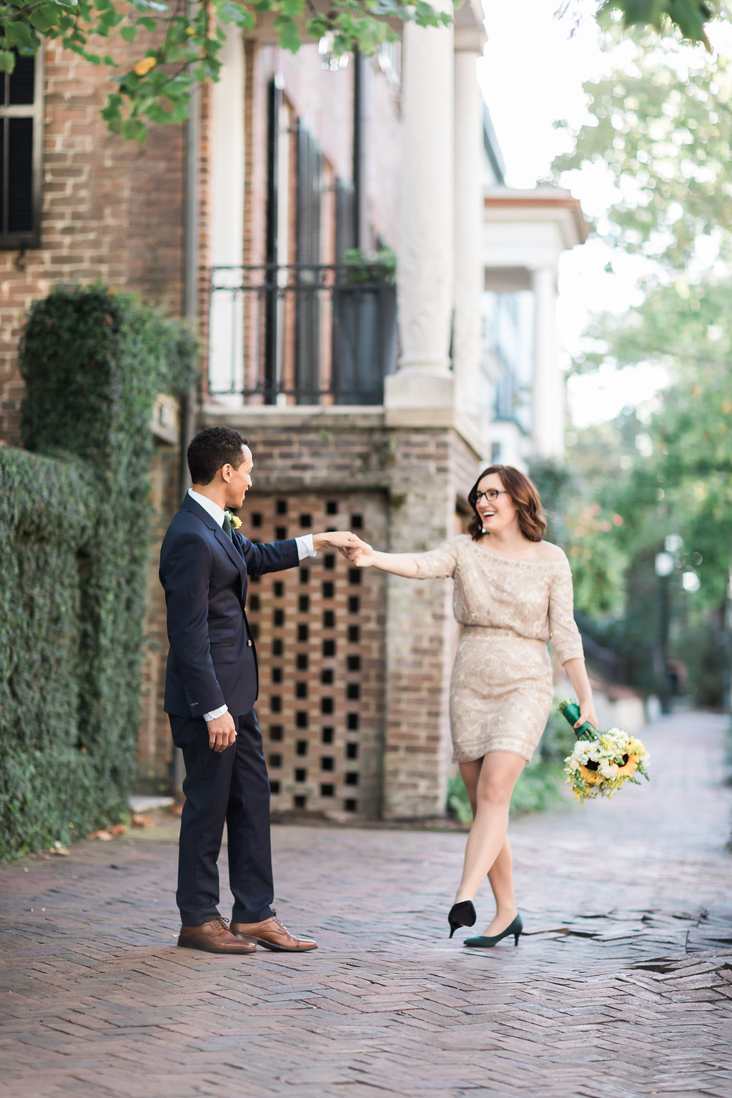 Savannah elopement