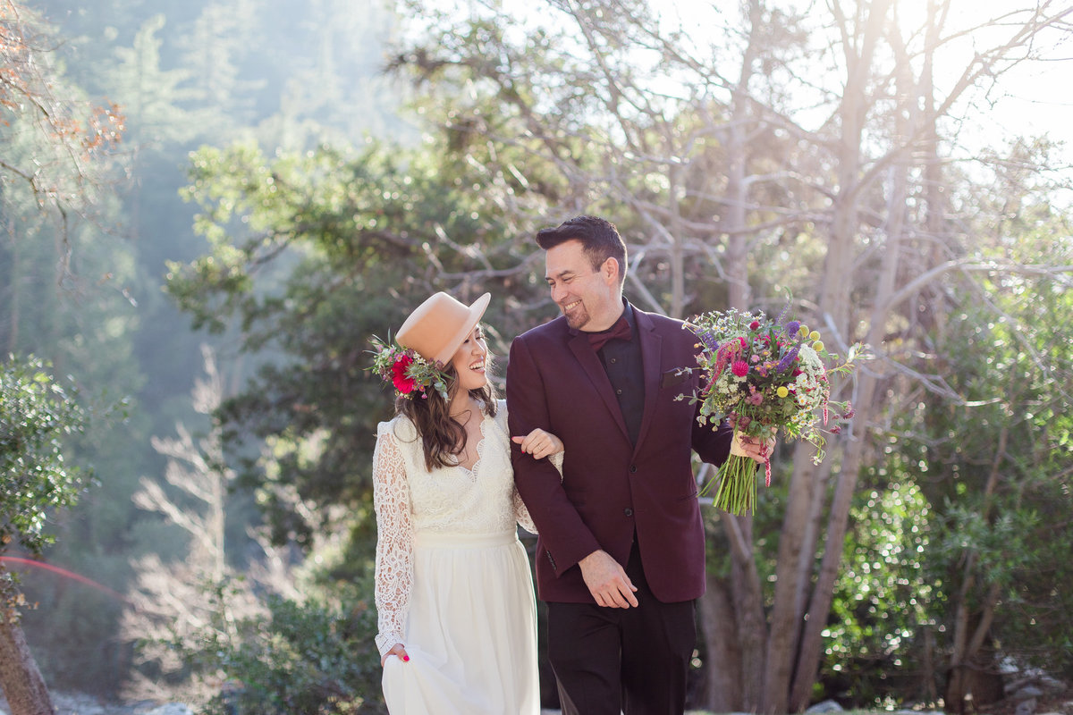 Mt. Baldy Elopement, Mt. Baldy Styled Shoot, Mt. Baldy Wedding, Forest Elopement, Forest Wedding, Boho Wedding, Boho Elopement, Mt. Baldy Boho, Forest Boho, Woodland Boho-16