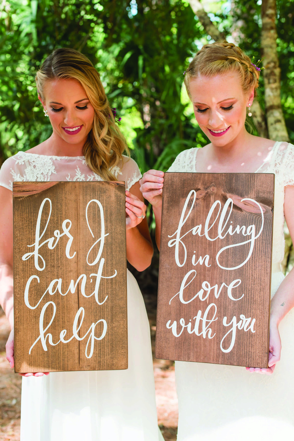 wedding sign calligraphy decor