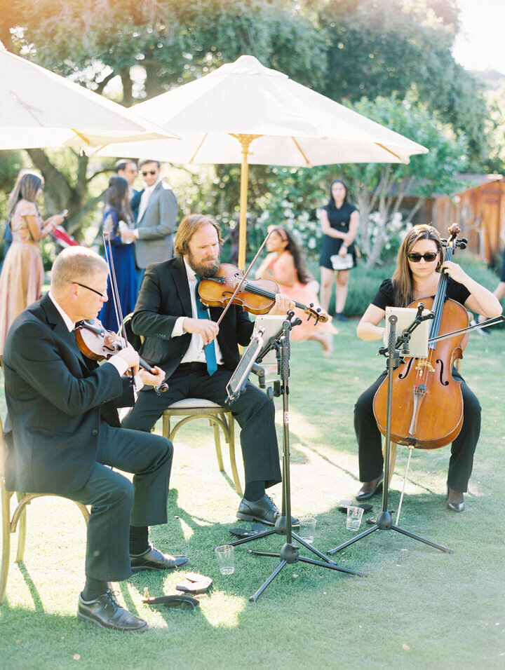 trio holman ranch wedding