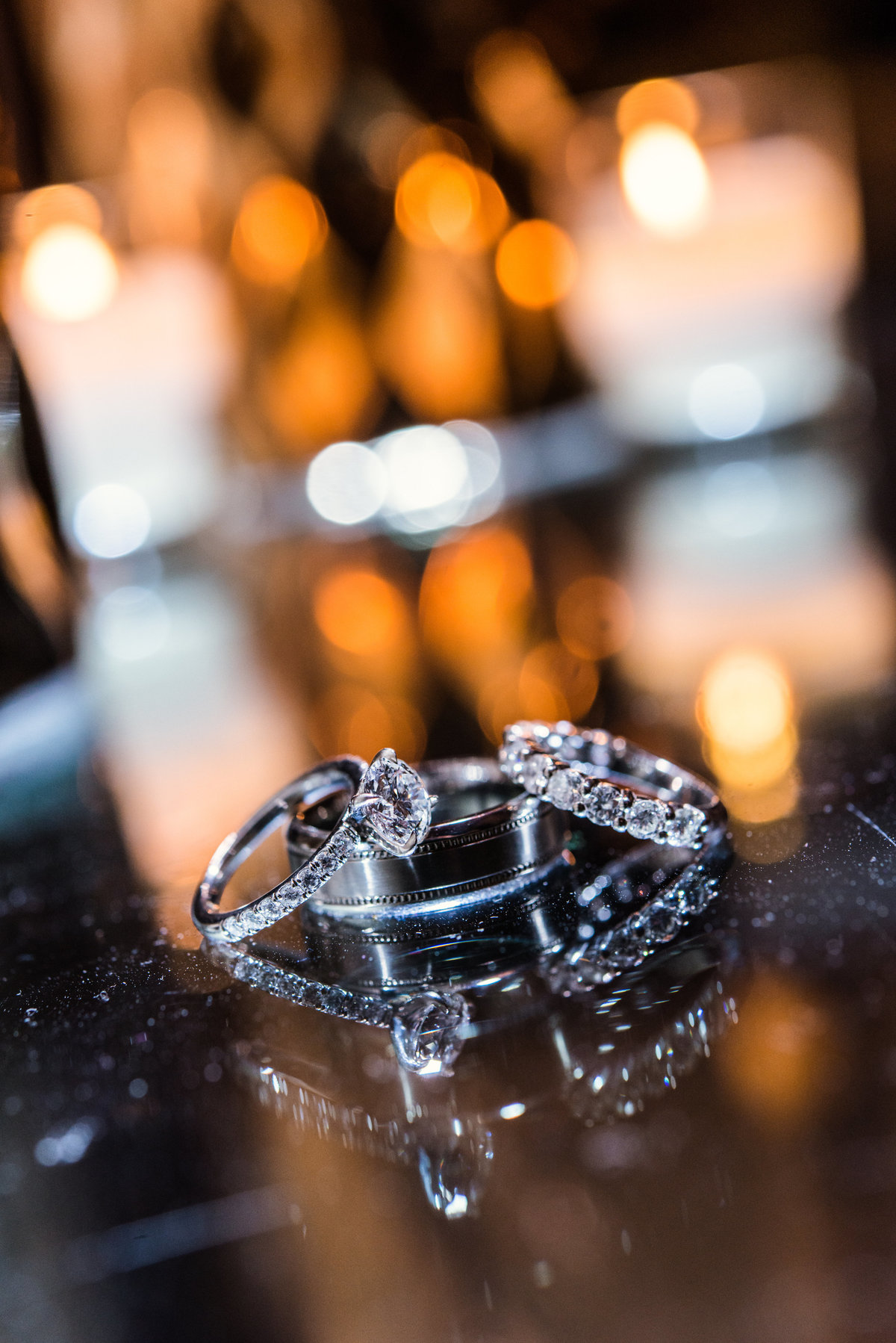 photo of wedding rings at Willow Creek Golf and Country Club