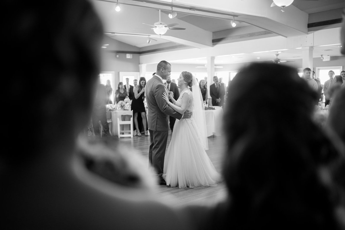 first dance at brant beach yacht club