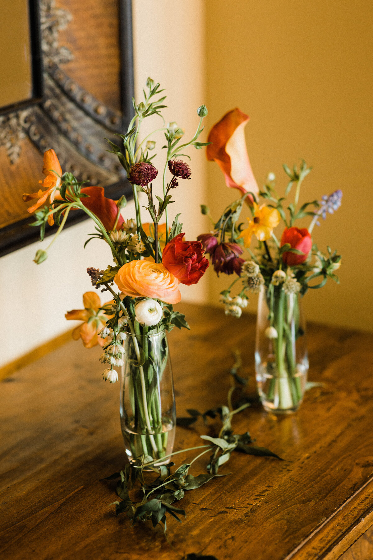 Bar arrangements, simple arrangements, wildflowers, bend oregon florist