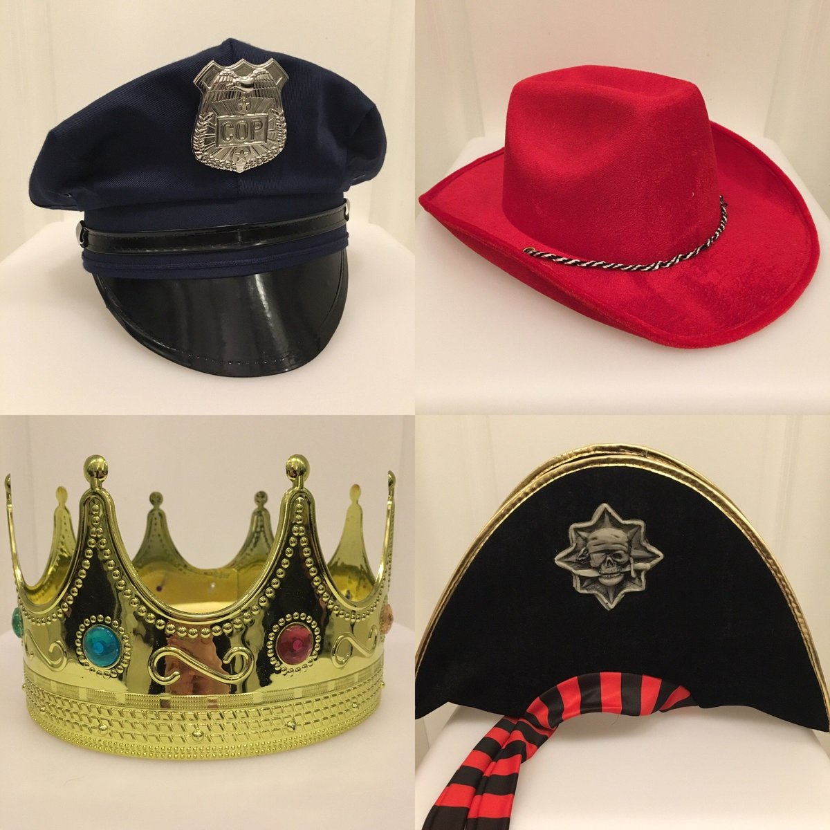 crown-police-pirate-hats