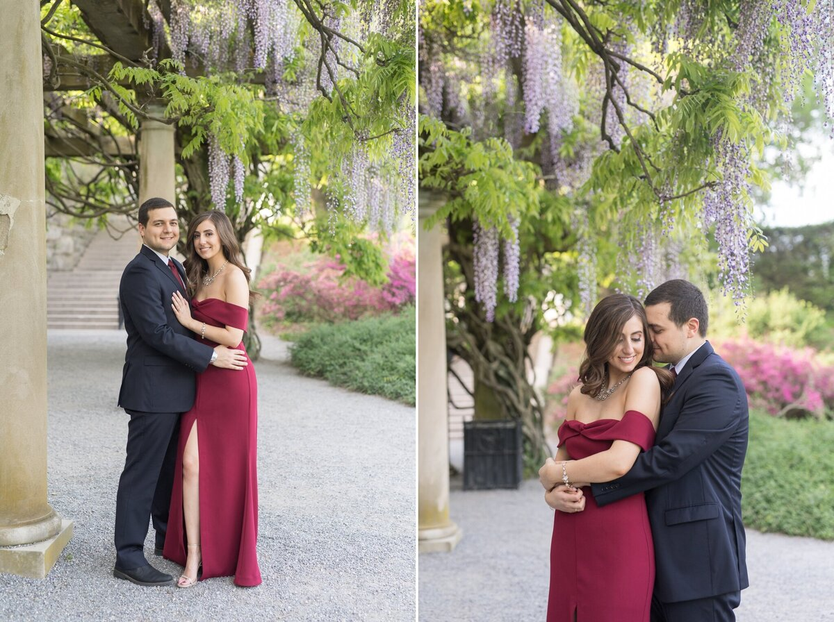 Biltmore Estate Engagement Session 14