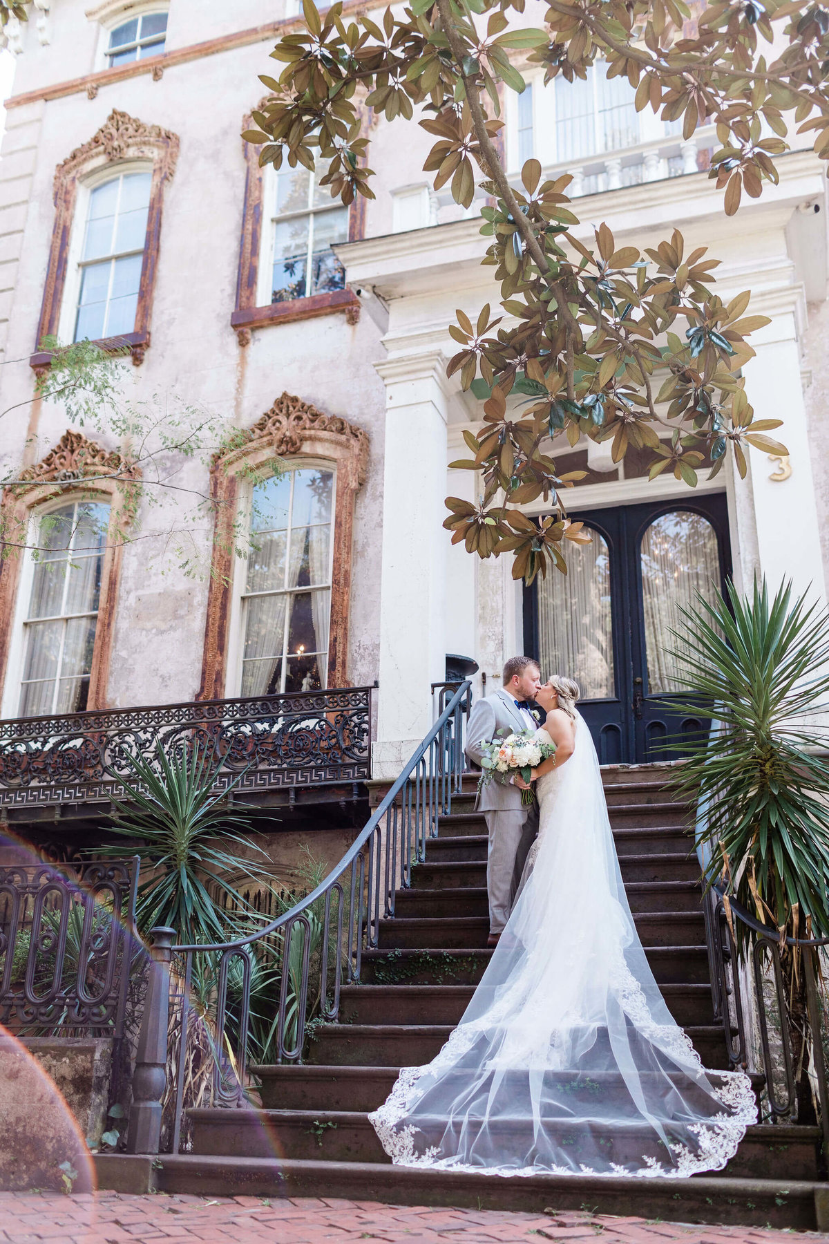 Historic Savannah Wedding by Apt. B Photography