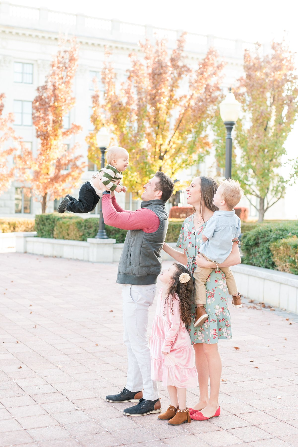 Koller Family Session_Utah State Capitol Fall 2019_007