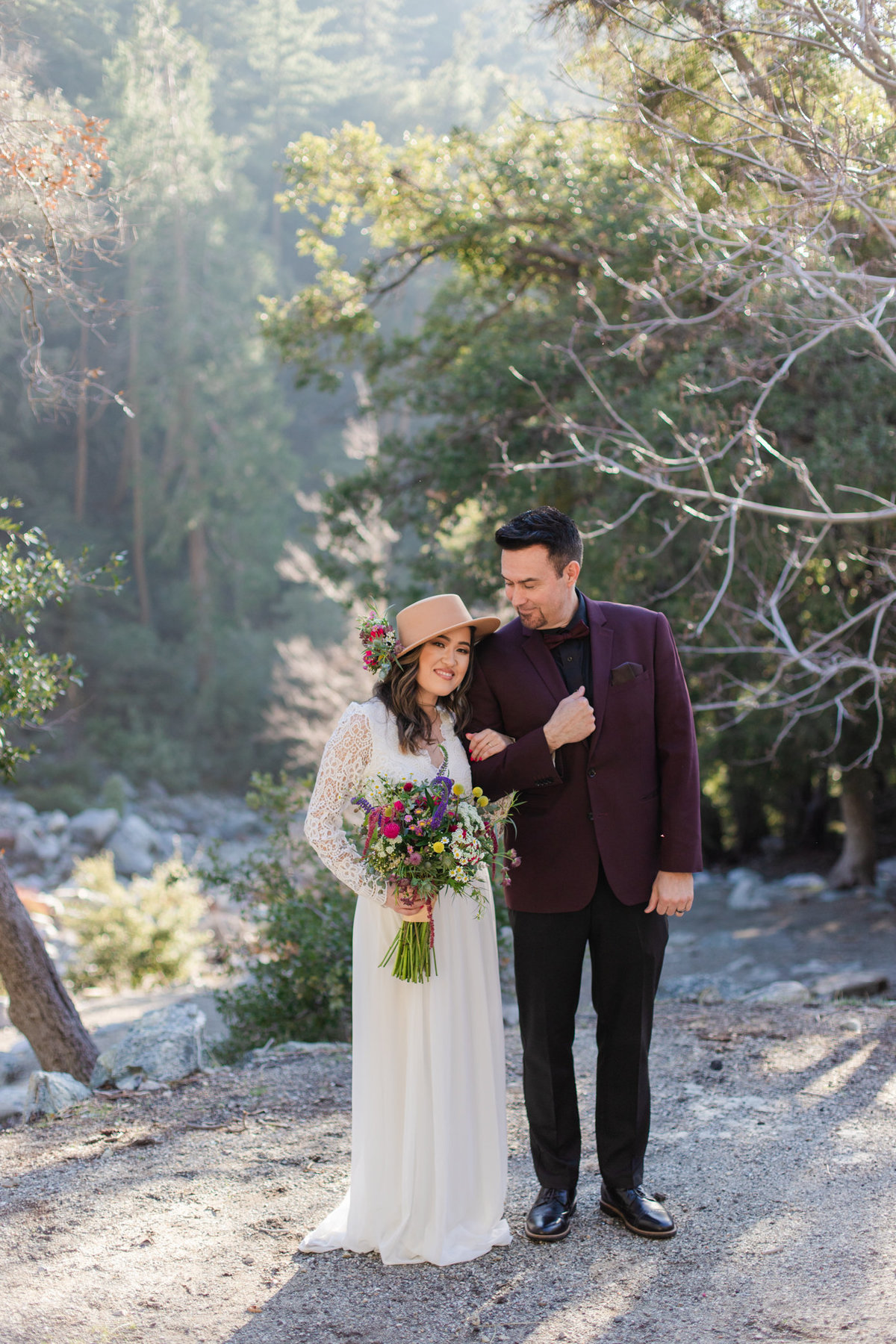 Mt. Baldy Elopement, Mt. Baldy Styled Shoot, Mt. Baldy Wedding, Forest Elopement, Forest Wedding, Boho Wedding, Boho Elopement, Mt. Baldy Boho, Forest Boho, Woodland Boho-10