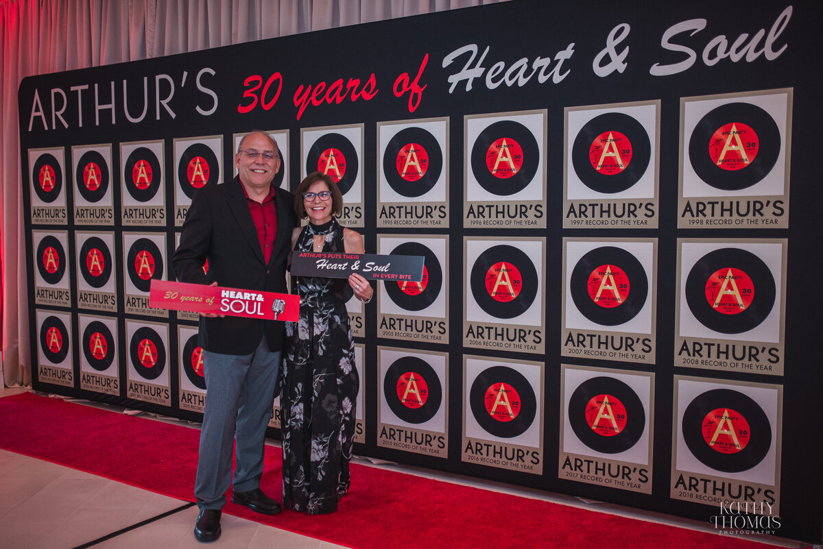 Arthur's Catering and Events 30th Anniversary Celebration at Harriett's Orlando Ballet Centre  11