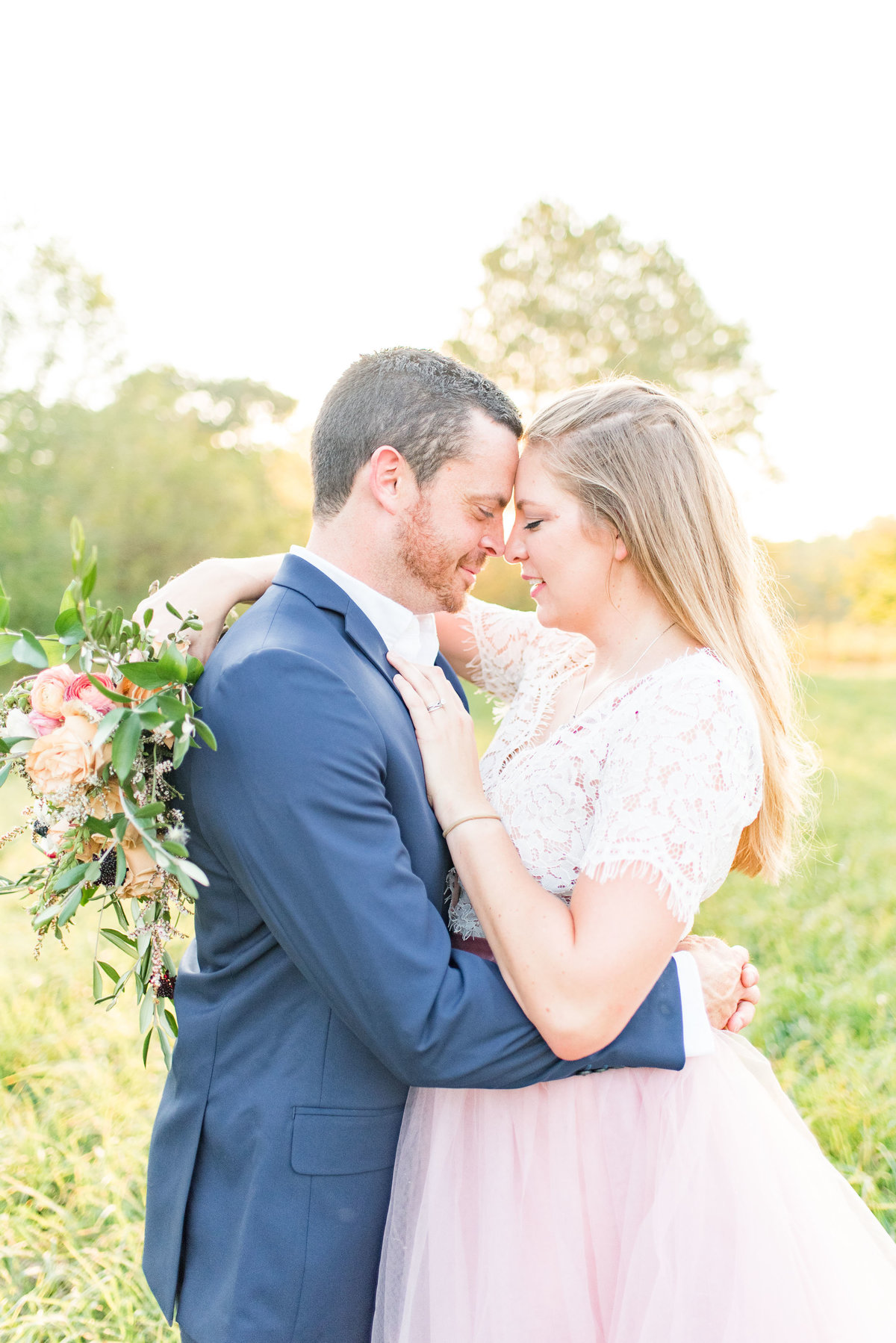 Cait Potter Creative LLC Open Field Rolling Greens Indianapolis Summer Engagement Photos-6