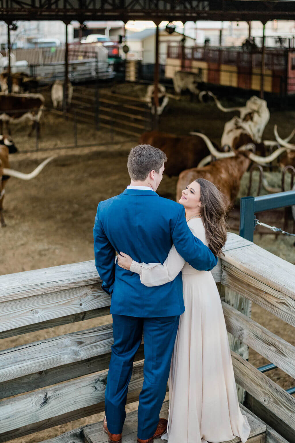 Alexia & Read's Engagement Session in Dallas, Texas
