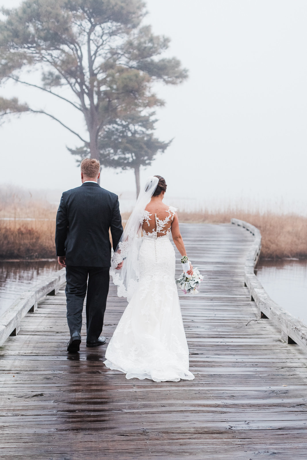 Fine Art Wedding Lighthouse Sound, Ocean City, Maryland