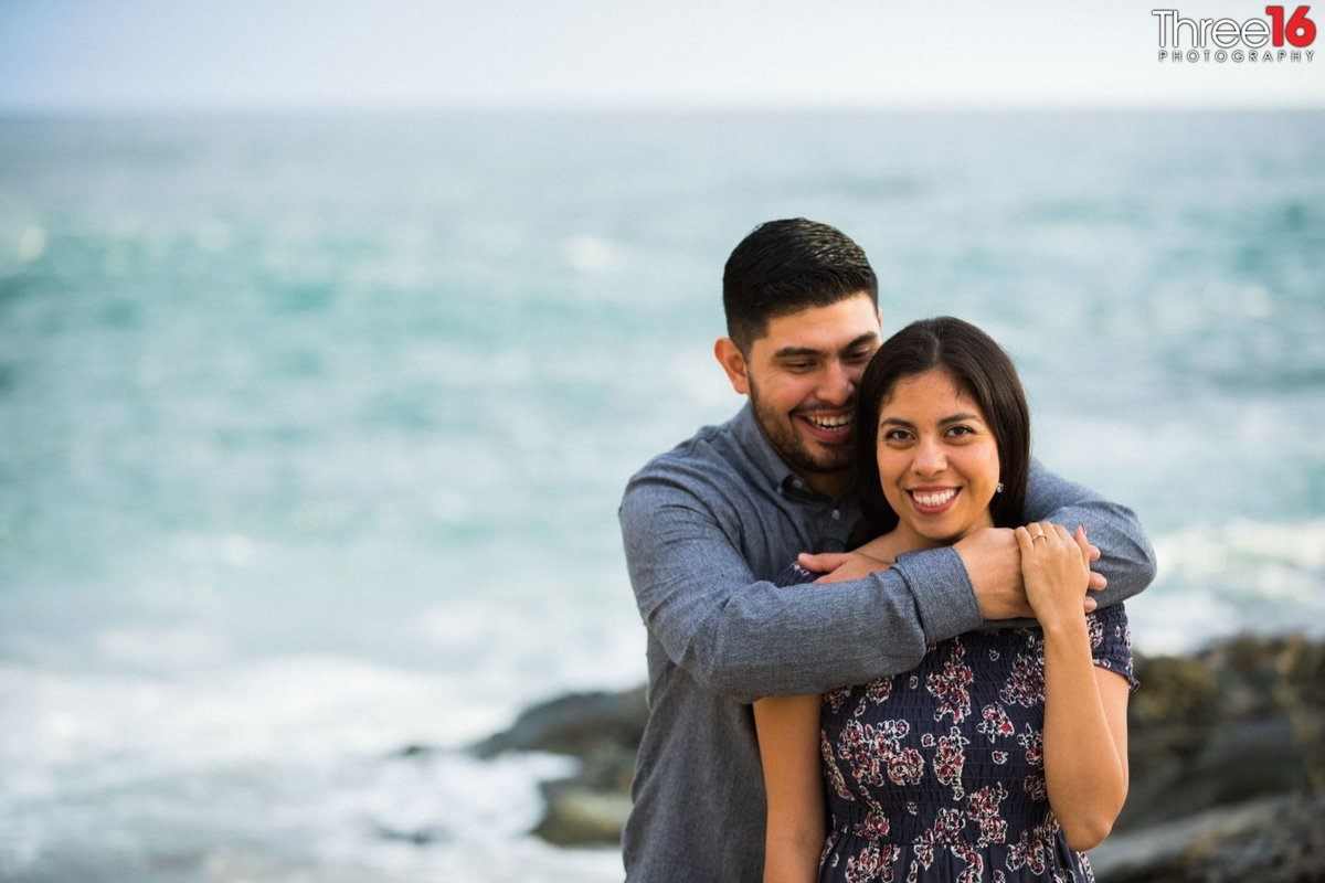 Table Rock Beach Engagement Sessions Laguna