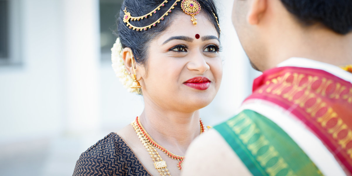 indian wedding photographer bride groom austin hinud temple traditional ceremony