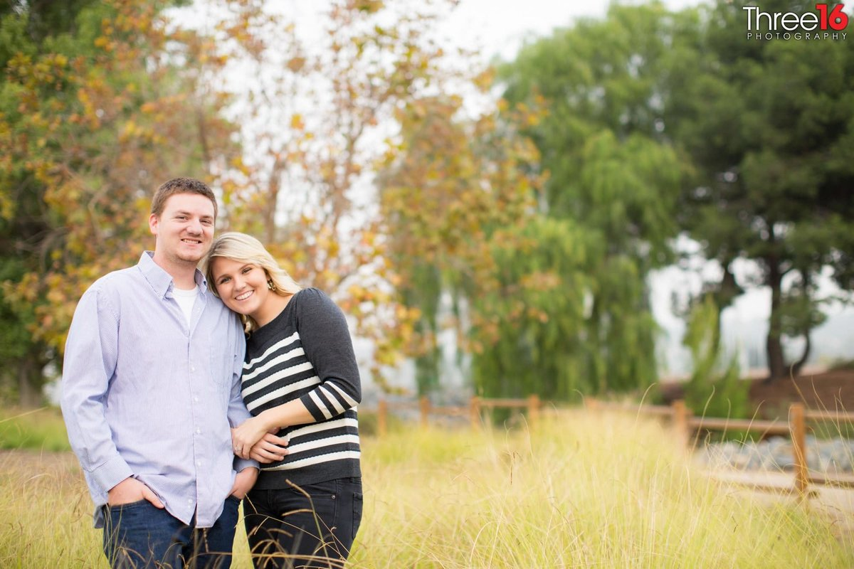 Yorba Regional Park Engagement Photos Anaheim Orange County