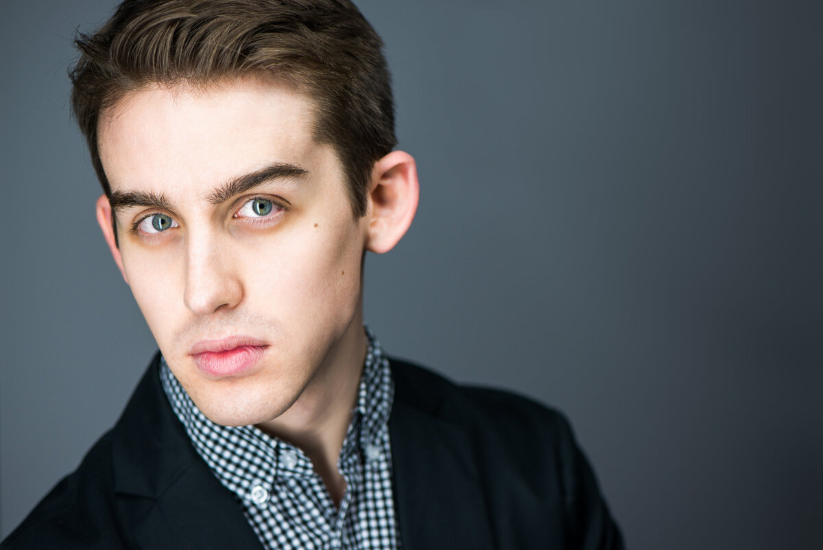 male actor headshot in Toronto