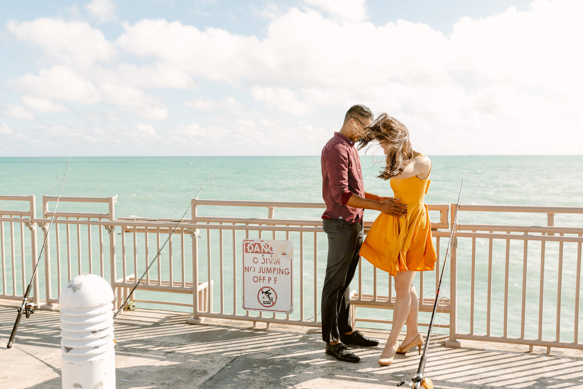 Sunny Isles Beach Engagement Photography Session 35
